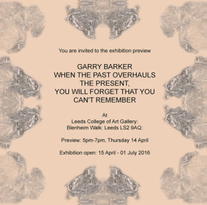 Gary Barker Exhibition flyer lr