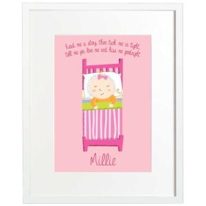 Martha's Press, Personalised Kids Print